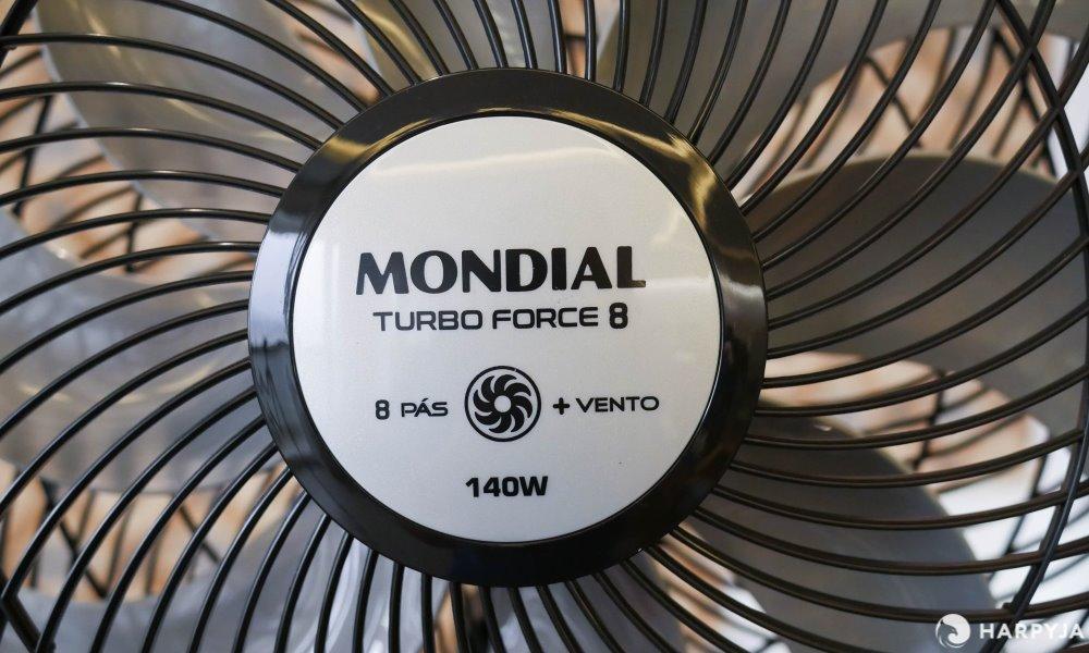 imagem do produto Ventilador Mondial Turbo Force 8 NVT-40C-8P