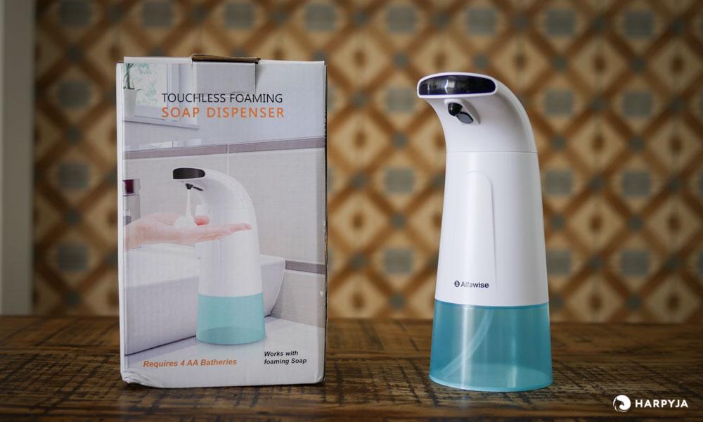 imagem do produto   Dispenser Automático de Sabão