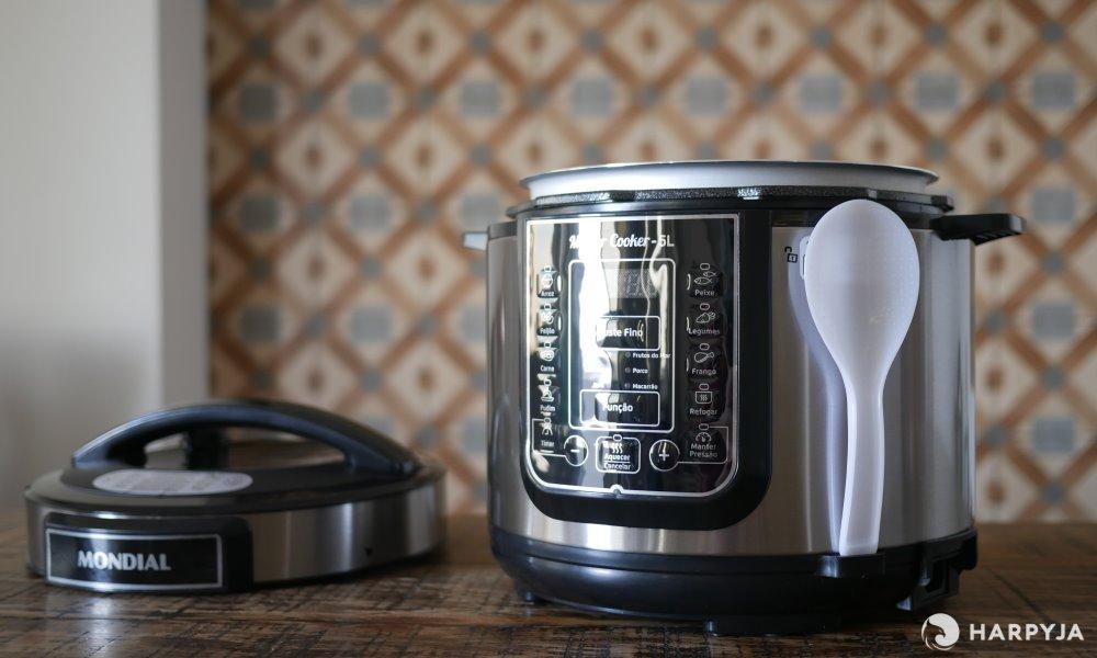 imagem do produto Panela de Pressão Elétrica Mondial Master Cooker 5L