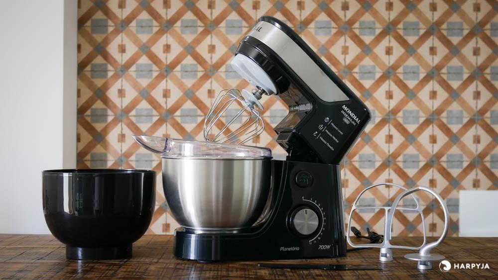 imagem do produto Batedeira Planetária Mondial Premium Inox 700W