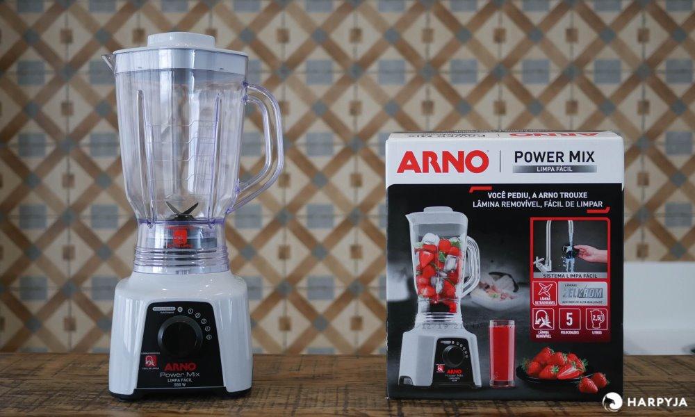 imagem do produto Liquidificador Arno Power Mix Limpa Fácil